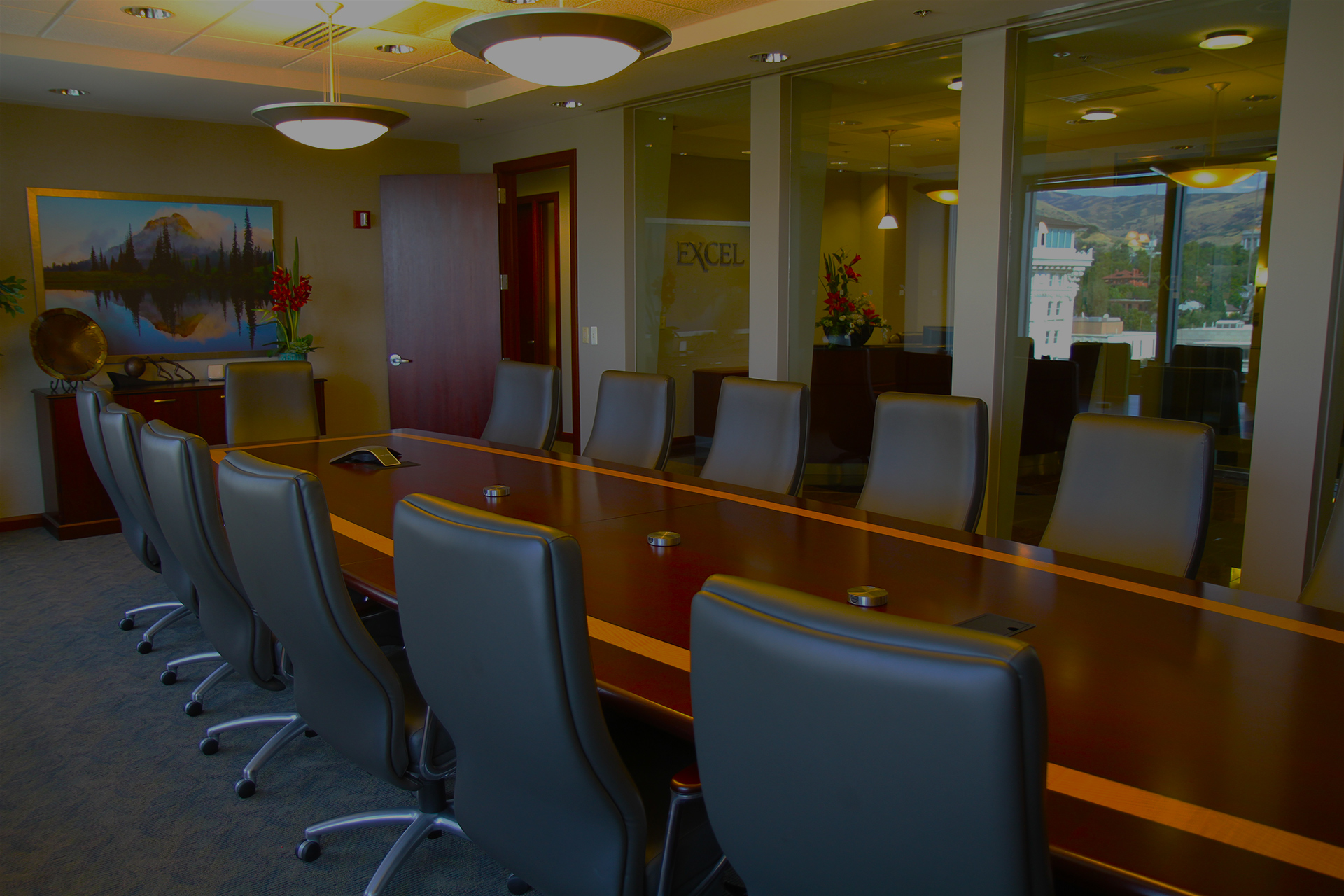 Excel Realty Holdings Boardroom - Gateway Tower SLC, UT